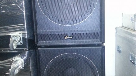 "Y Audio DYS 118 600/1200 W, 8 ohm, 1x18"" 4 db."
