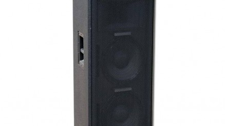 "Y Audio DYS 212 500/1000 W, 4 ohm, 2x12""+1"" driver. 2 db."